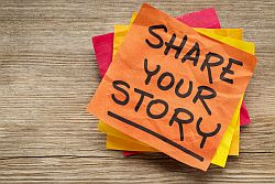 Share your stories with us!