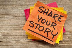 Teilen Sie Ihre Stories!