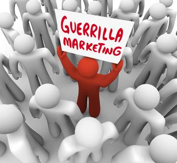 Guerrilla-Marketing  (© iqoncept / fotolia.com)