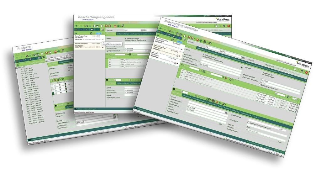 Screenshots VlexPlus Masken