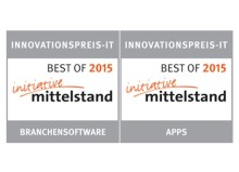 Signet Best-of Innovationspreis-IT 2015 für pds