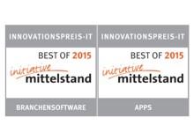Signet Best-of Innovationspreis-IT 2015 für pds