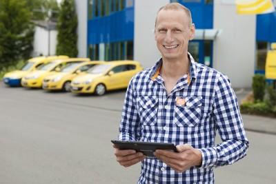 Geschäftsführer Bernd Thrum ist froh, seine Unternehmens-IT mit dem Ge-winn des #modernbiz Wettbewerbes nun auf den neusten Stand der Technik bringen zu können.