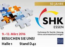 Lgog SHK Essen: Handwerkersoftware von pds auf der Fachmesse SHK Essen 2016
