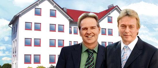 LANOS feiert 25-jähriges Jubiläum - 1991 von den Brüdern Christian Fockel (links) und Hans-Jürgen Fockel gegründet