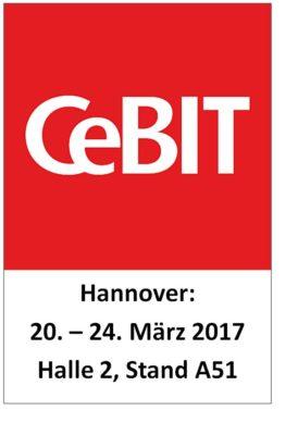 Systemhaus LANOS auf der CeBIT 2017 in Halle 2, Stand A51