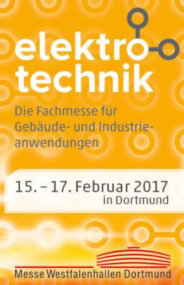 pds auf der elektrotechnik Fachmesse 2017 am Stand 6.B20 (Bild: Messegesellschaft Dortmund)
