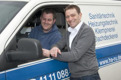 """Geschäftsführer Michael Bohlmann (rechts): """"Nun fließt alles digital zusammen, was zusammen gehört."""""""