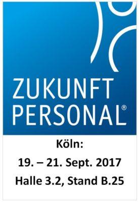 Zukunft Personal 2017: Systemhaus LANOS auf dem DATEV Messestand B.25 in Halle 3.2