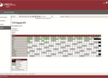 Screenshot LANOStime ida + bericht