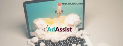 Von der Erstellung eines professionellen Webauftritts über Google AdWords bis hin zu aufmerksamkeitsstarken Social Media Werbekampagnen – für jede Marke, jedes Produkt und jedes Budget findet AdAssist die passende Strategie. (Bild: AdAssist GmbH)