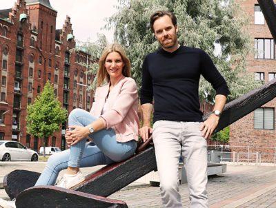 Daniel Blank mit DynaMe Mitgeschäftsführerin und Motivationsexpertin Sabrina Haase