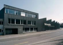 Das Schmidlin Produktionswerk im Schweizer Oberarth, wo das Unternehmen seinen Hauptsitz hat.