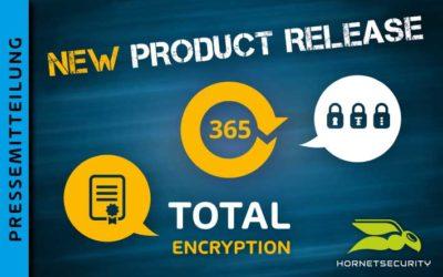 Schutz vor Ausspähung und Datendiebstahl für Office 365 – Hornetsecurity veröffentlicht 365 Total Encryption (Bild: Hornetsecurity)