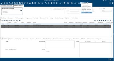 Echtzeit-Produktdatenabruf über Open Masterdata in der pds Software (Bild: © pds GmbH)